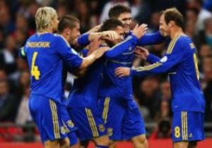 Збірна України зробила стрибок у рейтингу FIFA