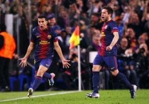 Барселона не обыграла ПСЖ, но прошла в полуфинал Лиги Чемпионов