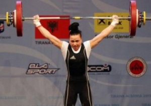 Українська важкоатлетка Юлія Паратова стала чемпіонкою Європи
