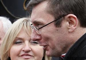 США - Україна - звільнення Луценка