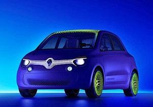 Renault Twin Z - електрокари - міські автомобілі - Renault Twin Z. Яким буде новий електричний сітікар французького виробника