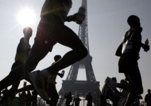 Спортсмени - біг - 37 Паризький марафон