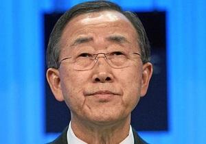 Пан Гі Мун стурбований ситуацією на Корейському півострові