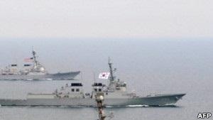 Кораблі Південної Кореї стежитимуть за діями КНДР