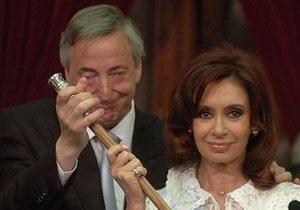 Аргентина обурена образою покійного екс-президента