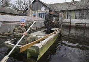 Івано-Франківська область - підтоплення