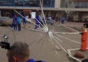 Автобус с игроками Динамо забросали камнями