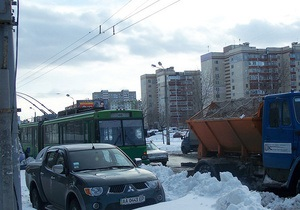 КМДА запевняє, що в Києві не було затримок транспорту через підтоплення