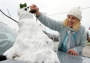 ЗМІ: Киянам запропонують ліпити сніговиків, щоб уникнути потопу