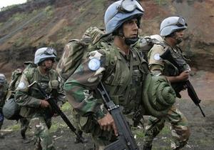 ДР Конго - ООН - миротворці - атака