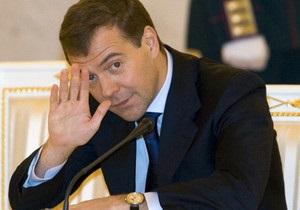 Медведєв - прес-секретар - прохання