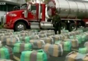 У Колумбії конфіскували 8 тонн марихуани
