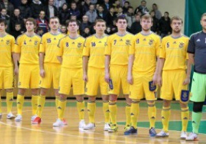 Сборная Украины по мини-футболу разгромила Англию в матче отбора на ЧЕ-2014