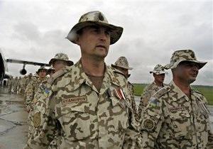 40 українських миротворців будуть переведені з Ліберії у Кот-Д'Івуар