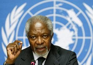 Кофі Аннан - Сирія - військове втручання