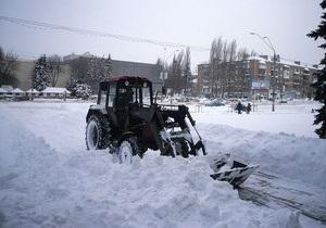 снігопад - дороги - Вночі Окружна дорога в Києві буде закрита для проїзду транспорту