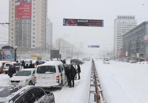 Екс-глава МНС: Влада отримала інформацію про снігопад, що наближається, за 10 днів, але сподівалася, що пронесе