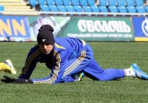 Сборная Украины не будет тренироваться накануне игры с Молдовой