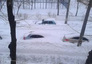 Київ - новини Києва - сніг - У Києві за неприбраний сніг штрафуватимуть