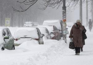 Негода в Україні - снігопад - Танути сніг в Україні почне у квітні - Укргідрометцентр