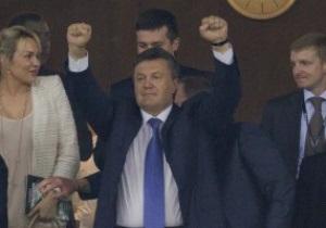 Янукович полетит в Одессу на матч Украина - Молдова  - СМИ