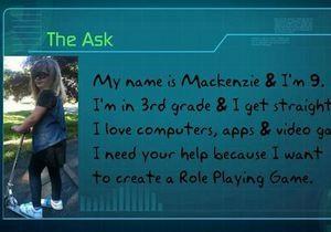Дев ятирічна дівчинка за добу зібрала 10 тисяч доларів на ігровий стартап