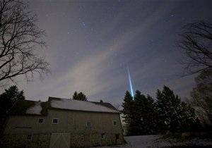 Новини науки - новини США: Вчені перевіряють повідомлення про метеорит, що пролетів над США