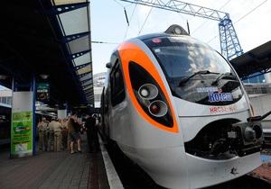 Поезда Hyundai будут курсировать до Запорожья