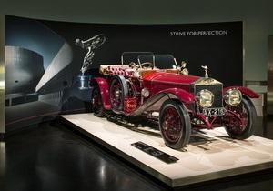 У мюнхенському музеї BMW відкрилася перша виставка Rolls-Royce