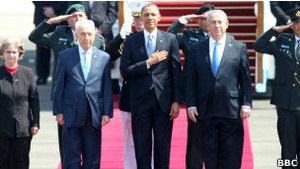 Обама вперше відвідує Ізраїль як президент