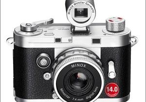 Minox DCC 14.0. Дешева фотокамера з 14-мегапіксельним сенсором і ретро-дизайном