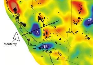 Каліфорнія - Сейсмічна аномалія в Каліфорнії виявилася частиною зниклої літосферної плити