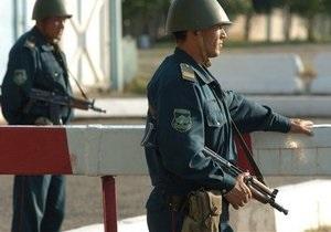 Узбекистан - прикордонники - стрілянина