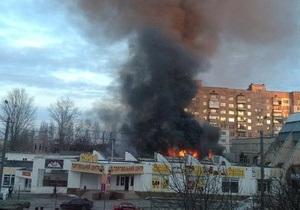Пожежа в торговому центрі в Вишгороді: нові подробиці