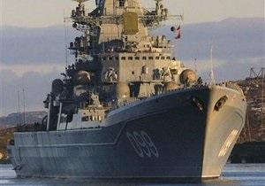 Росія має намір управляти угрупованням своїх кораблів в Середземному морі з території України