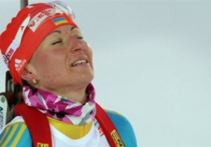 Біатлон. Віта Семеренко упустила бронзу в останній гонці сезону