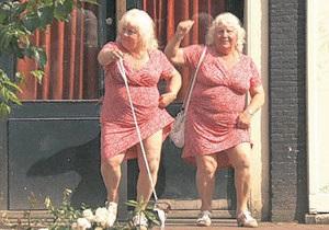 У Нідерландах найстаріші повії-близнючки вирішили піти на пенсію