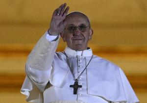 Новий Папа Римський - Франциск - Ватикан - Папа Римський - Хорхе Берголіо - фото