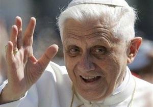 Бенедикт XVI не буде присутній на коронації нового понтифіка
