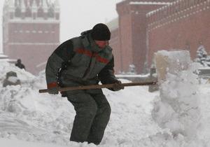Росія - Онищенко - сніг