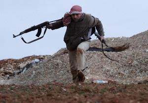 Сирія - повстанці - наступ