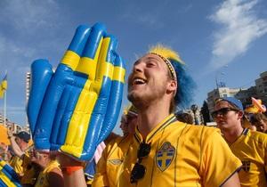 У Києві з'явиться пам'ятник шведським вболівальникам, які побували на Євро-2012