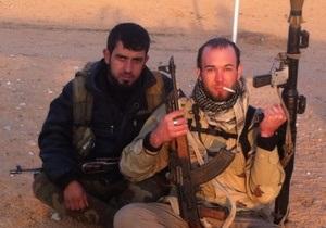 На боці сирійських повстанців воює американський солдат