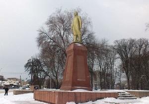 Новини Сумської області - пам ятник Леніну - В Охтирці відновили демонтований свободівцями пам ятник Леніну