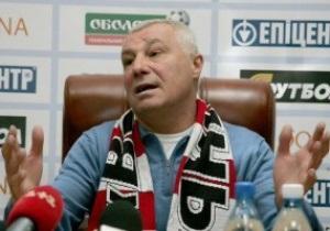 Тренер Волыни заметил офсайд при первом мяче Динамо