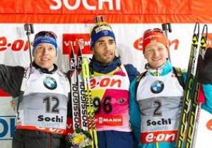 Биатлон. Украинец Семенов выиграл бронзу на этапе Кубка мира в Сочи
