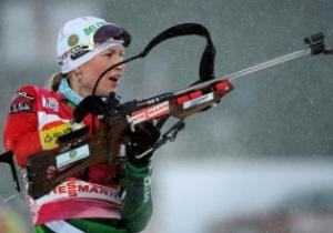 Украинские биатлонистки неудачно дебютировали на олимпийской трассе в Сочи