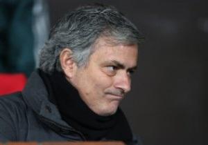 Жозе Моуринью: От игры Реала я ожидал большего