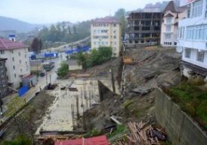 В Сочи обрушился строящийся к Олимпиаде туннель