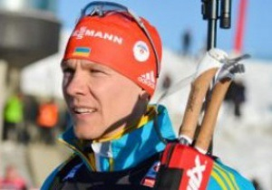Биатлон. Украинец Дериземля попал в десятку лучших в гонке преследования